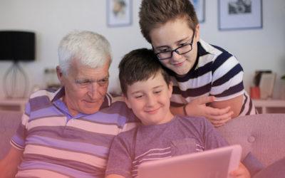 Quand 3 générations se rassemblent devant France 3 & Twitch